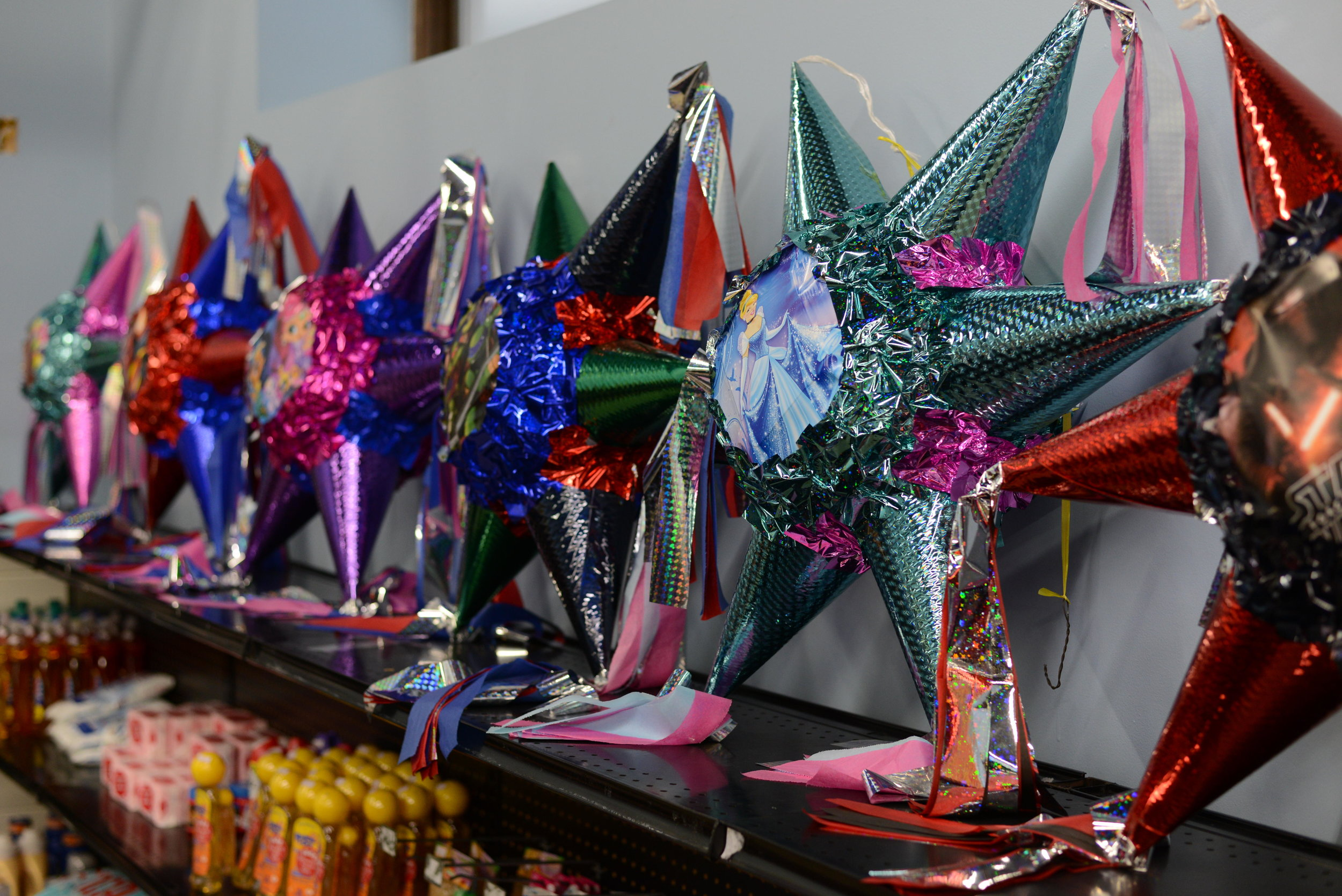 Lula's Tienda has everything from pinatas to dried peppers. Escareño is also looking forward to stocking more turtle merchandise to appeal to the summer crowds. (Carter Jones/ FOCUS)