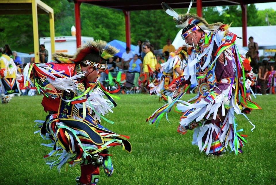 The White Earth Powwow always features various styles of traditional tribal dance and dance regalia, from jingle dresses to grass and woodland outfits. This year's Saturday evening dance (always the most popular with the public) is expected to draw several hundred dancers. (File photo)