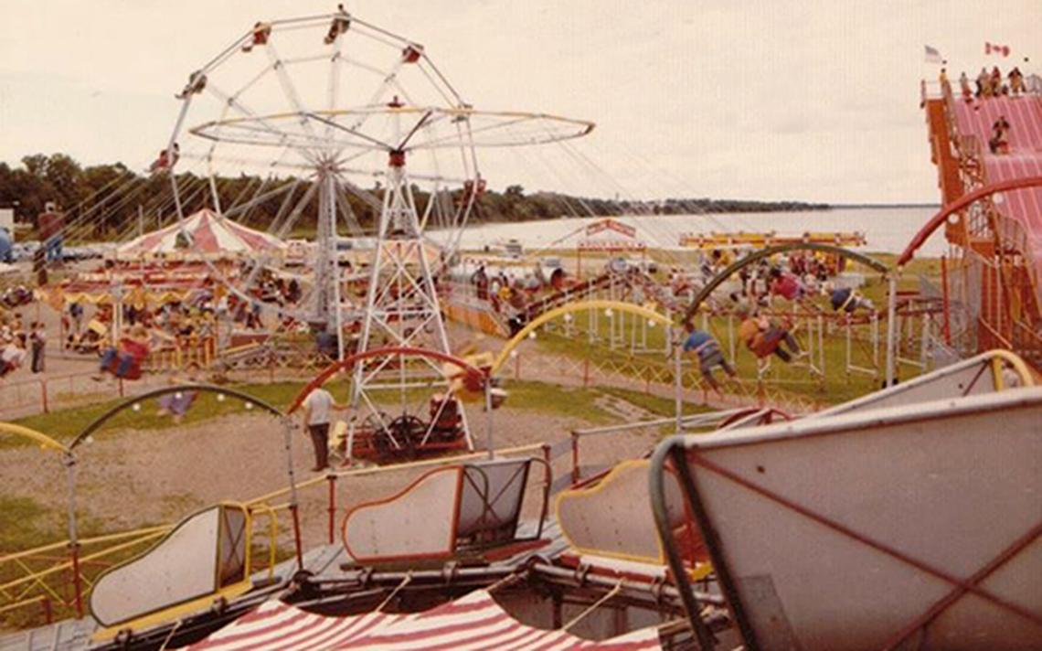The Paul Bunyan Amusement Park ran for nearly five decades at the Lake Bemidji waterfront. (submitted photo)