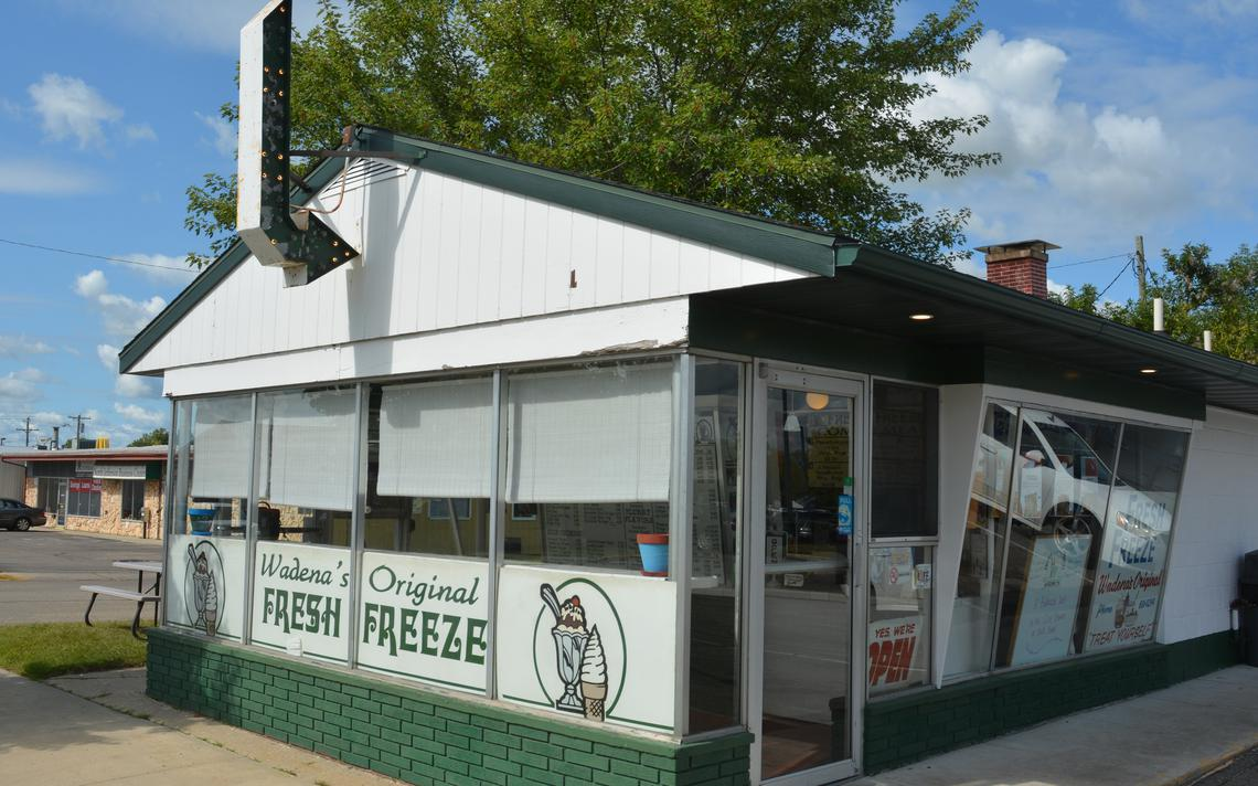 The business has been open for 60 years and is still serving up frozen treats. Michael Denny/Wadena Pioneer Journal