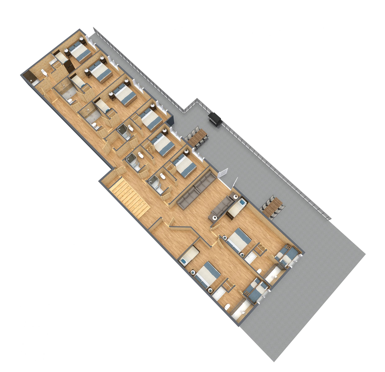 Blue Spruce Lodge - Lower Level.jpg