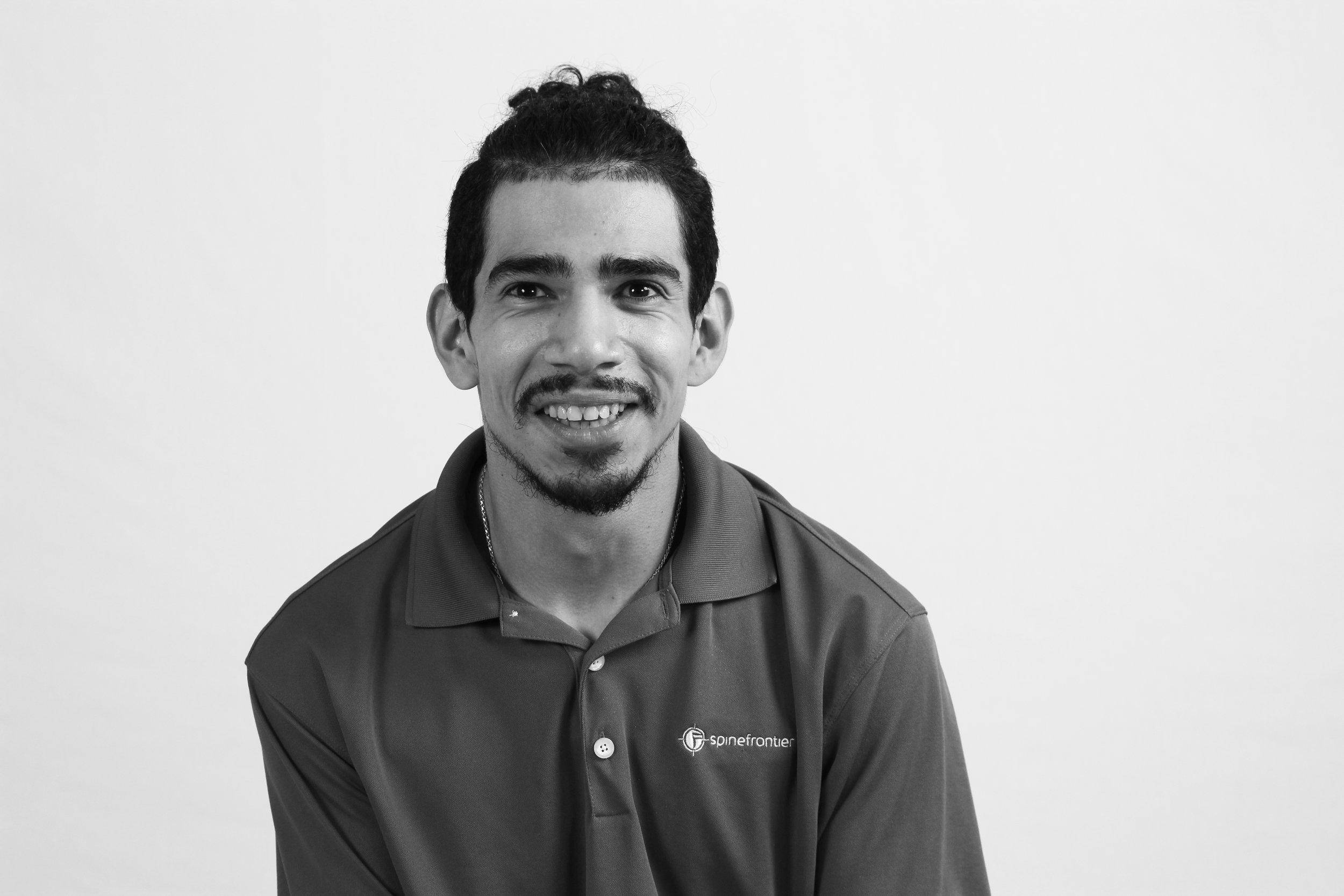 Oscar Herrera  Product Manager/Senior Mechanical Engineer  OscarHerrera@SpineFrontier.com
