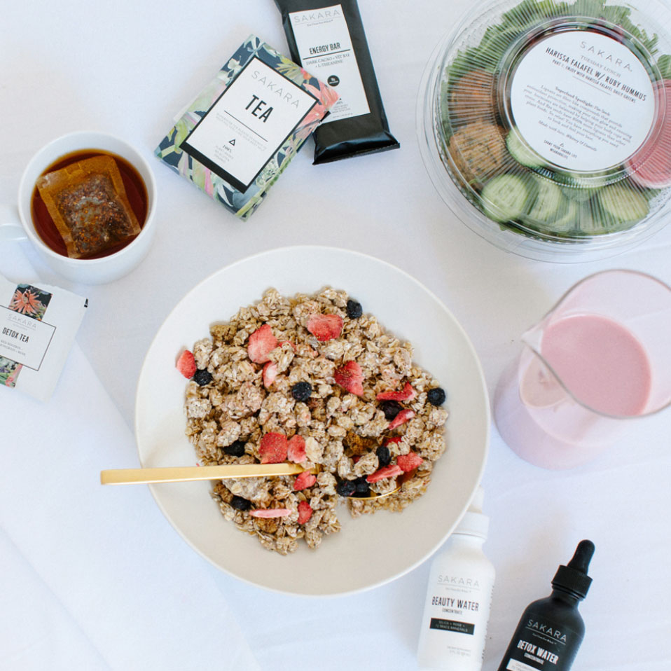 Delicious plant-based food and nutritional ready made foods from Sakara