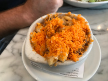 Macaroni and Cheese at Merchants in Nashville, (P.S. I never eat Cheetos, this was an exception).