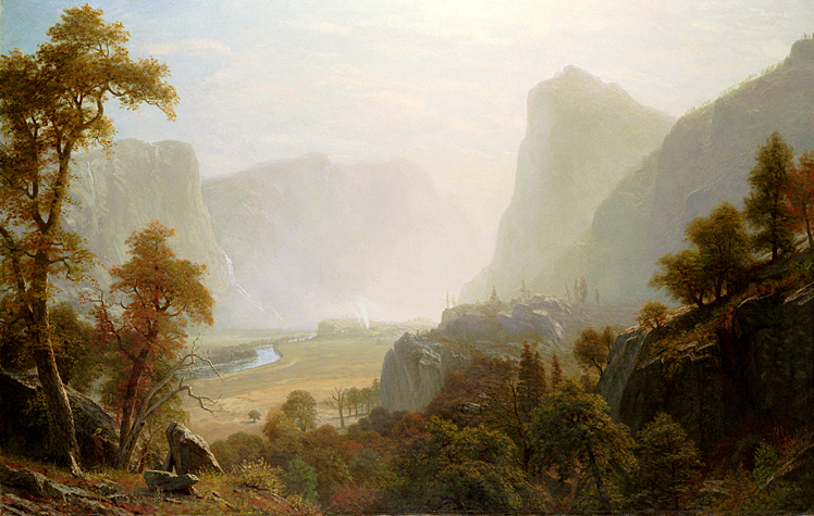 Hetch_Hetchy_Valley_From_Road,_Albert_Bierstadt.jpg