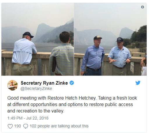 Zinke and Hetchy