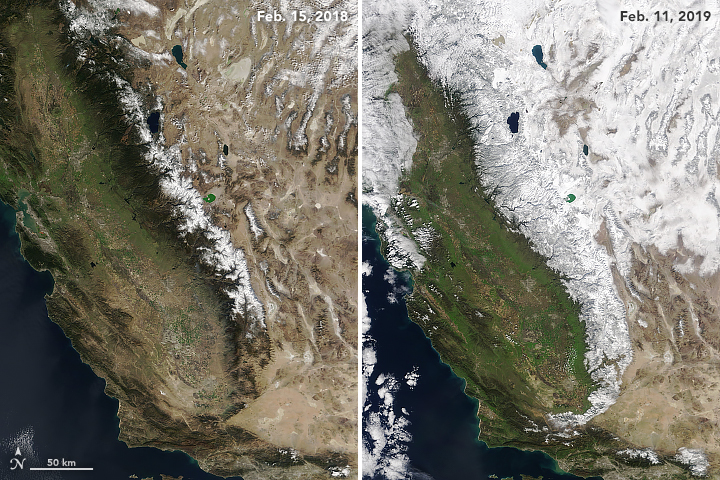 Sierra Snow Satellite