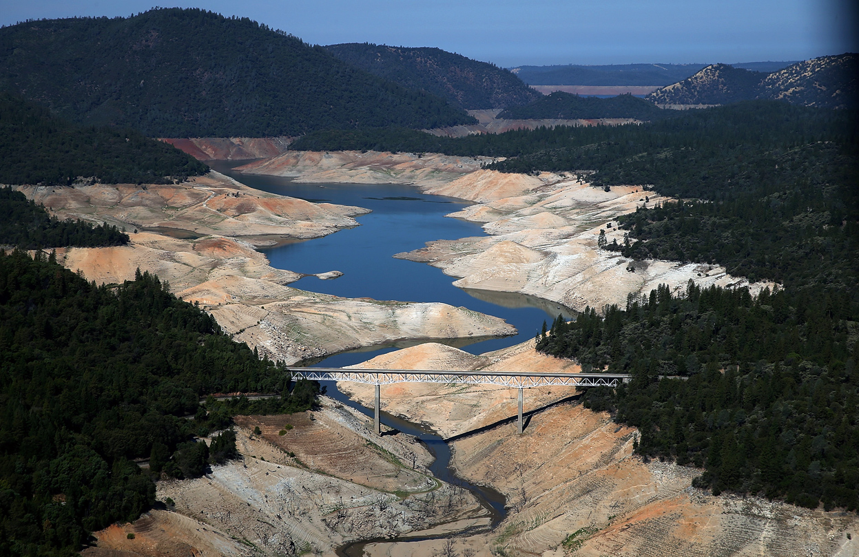 Lakeless Oroville