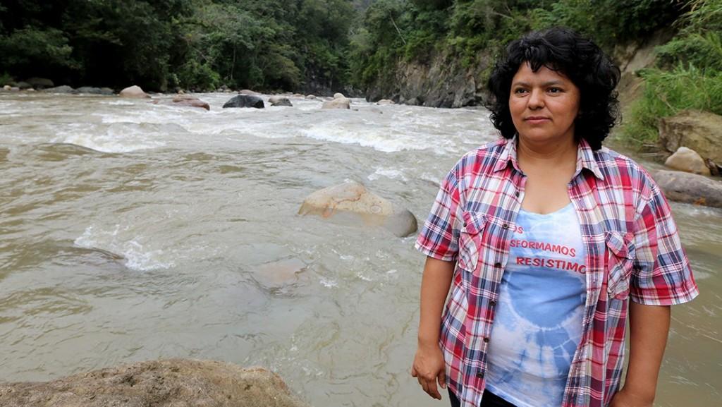 Berta Cáceres, presente
