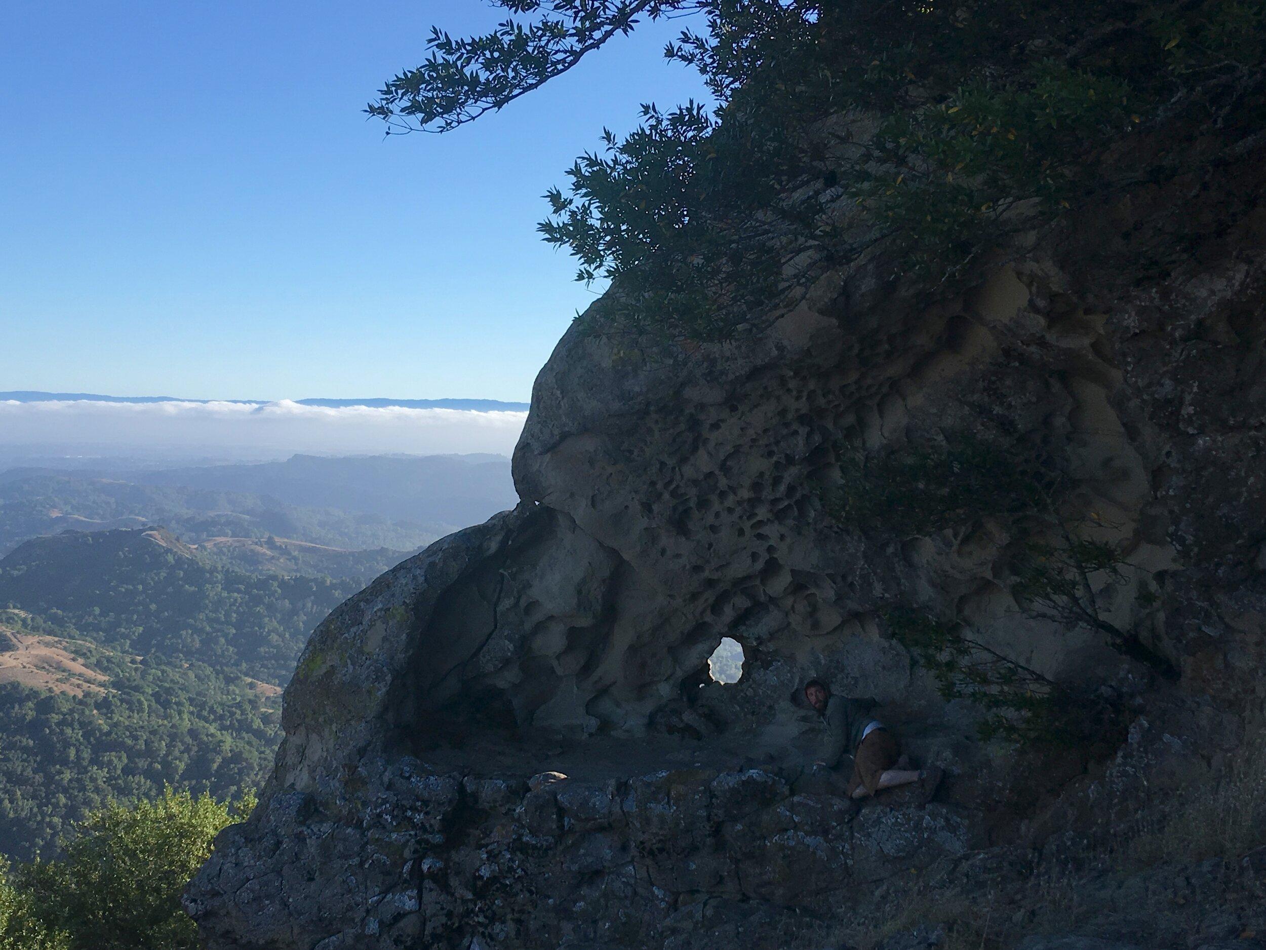 Rocky Ridge Tafoni at Los Trampas Regional Wilderness