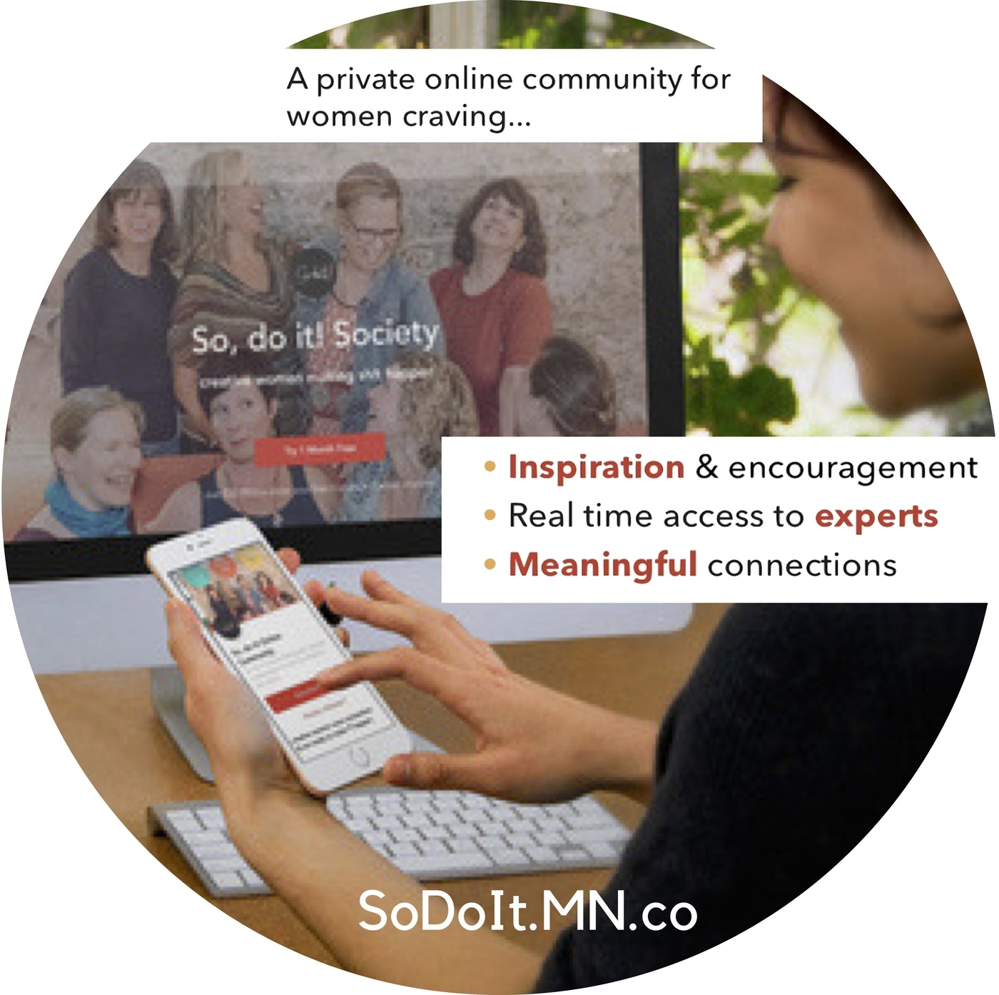 A Members Only ONLINE Community for Creative Women who CraveConnection, Collaboration and Learning - We're Making Sh!t Happen :: try us FREE for a month!