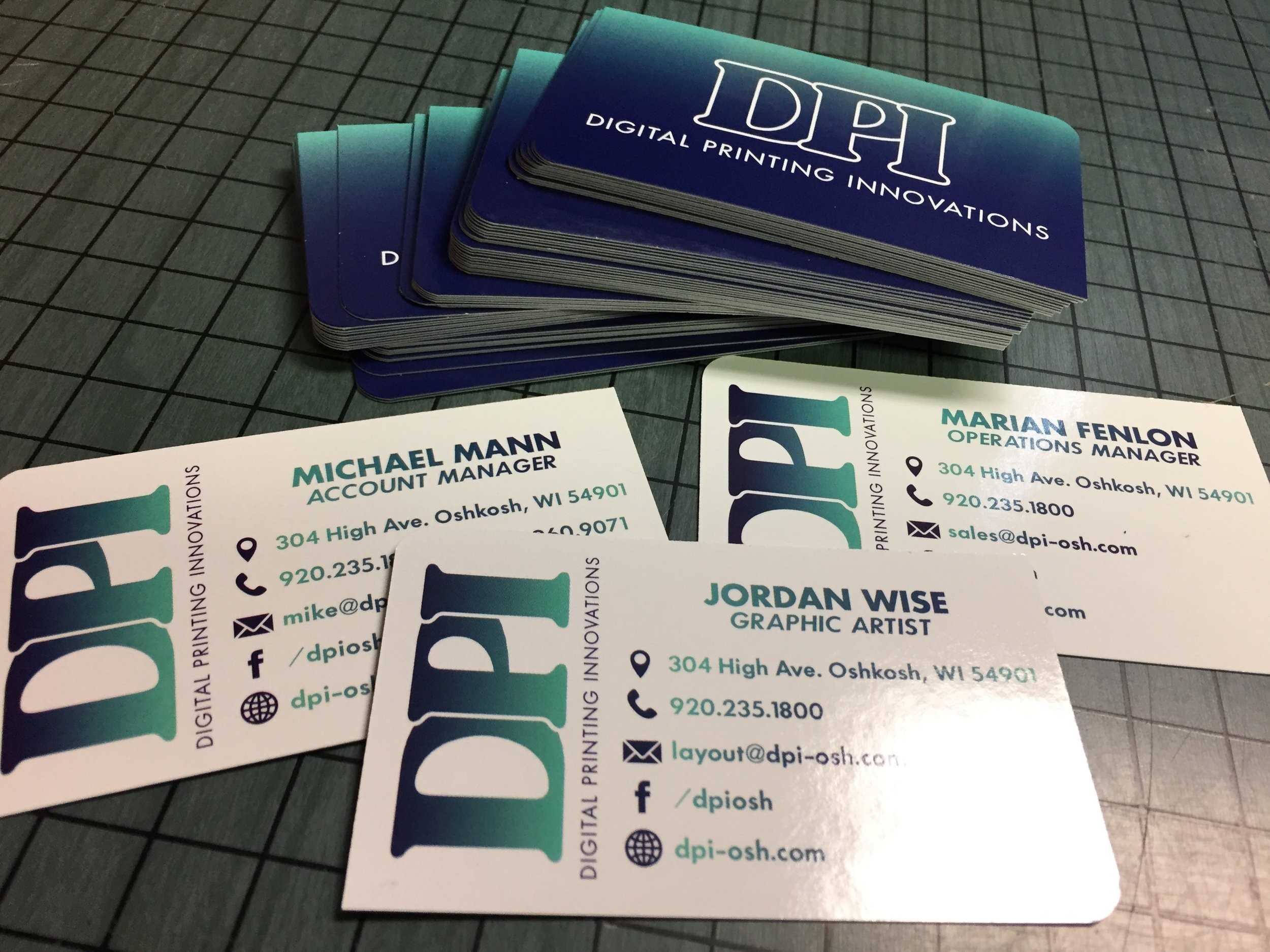 DPI Business Cards