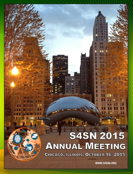 """S4SN 2015 Annual Meeting - The S4SN 2015 Annual Meeting was held in Chicago, IL, October 16, 2015. The meeting consisted of a Keynote address by John Cacioppo, a hot topics session with Robert Froemke on """"Oxytocin, maternal behavior, and excitatory-inhibitory balance"""" and Harriet de Wit on """"Measuring prosocial effects of drugs in humans: 3,4-methylenedioxy-methamphetamine (MDMA) and oxytocin"""", several symposia discussing topics of social neuroscience from both the human and animal model perspectives and a poster session. (See: S4SN 2015 Annual Meeting Printed Program.)"""