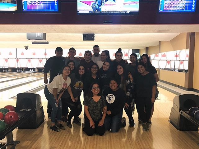 🎳 The Muxeres and Latinx Male Alliance family 💕