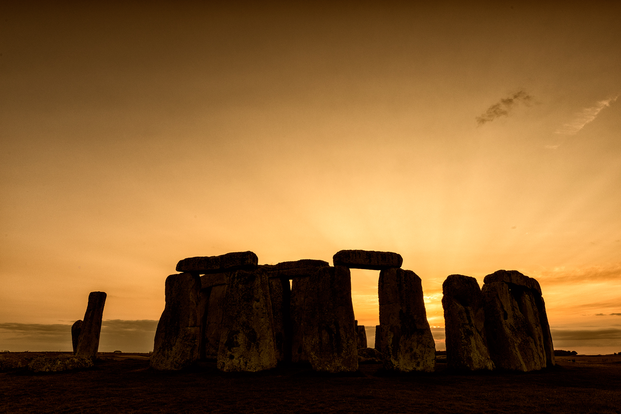 Our First Stonehenge Sunset
