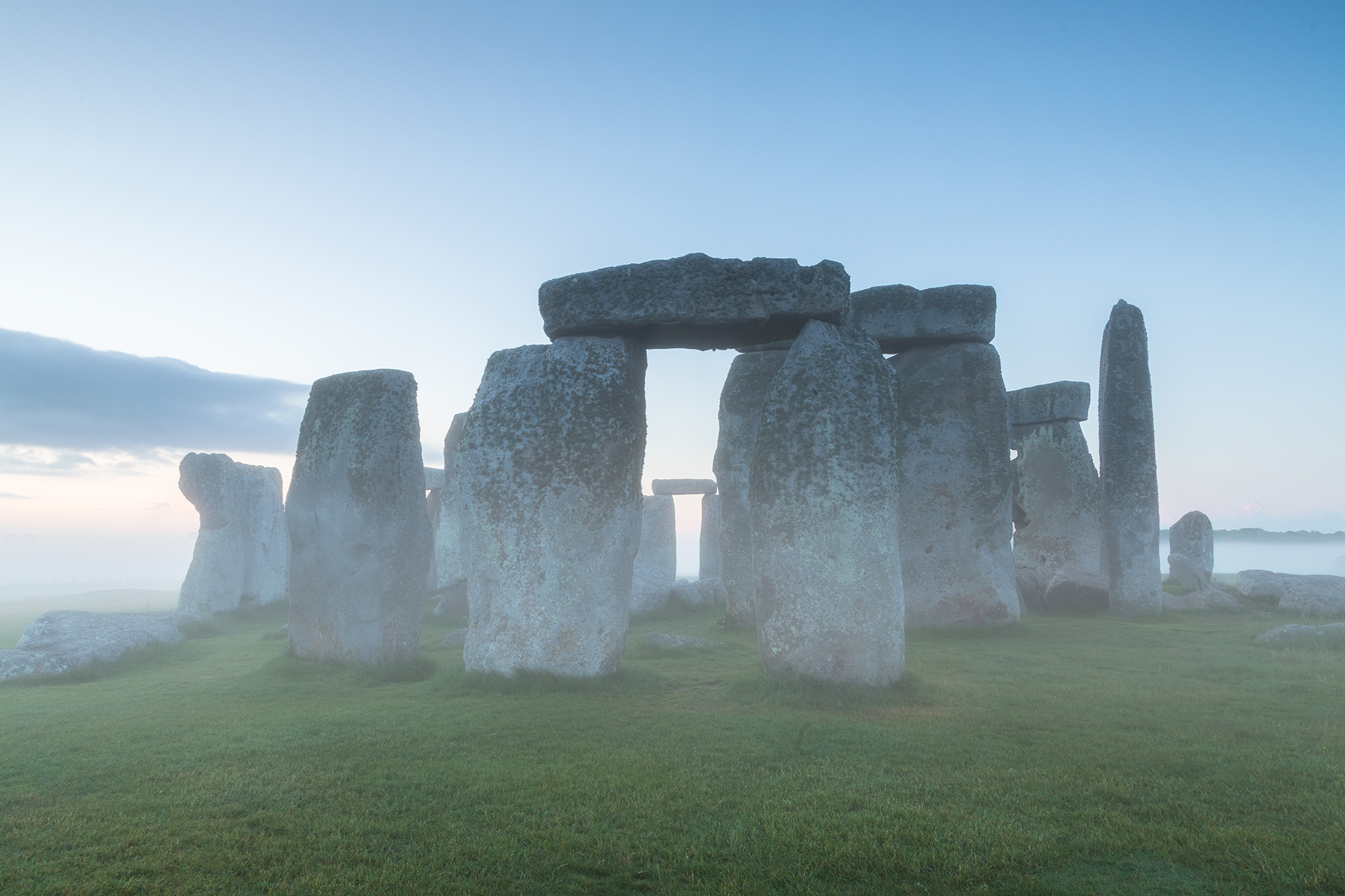 But the best of the trip, was the return morning to Stonehenge. We arrive to a layer of fog that hovered over the stones. Our second private session was more magical than any of us could have hoped for, and it just kept getting better.