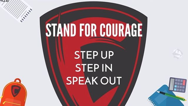 Stand For Courage: A New Path Forward!  #standforcourage #bully #behavior #intervention #prevention #SFCimpact #highschool #middleschool