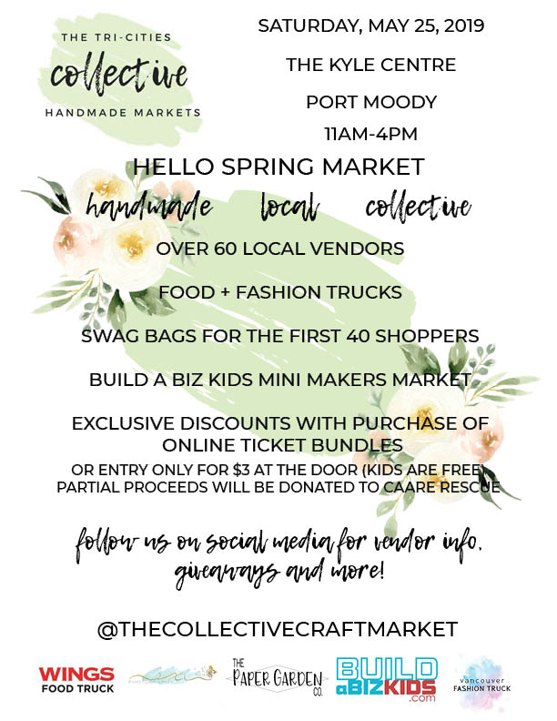 - Our feet are SO sore but, our hearts are SO full. 🖤We are BLOWN away with all of the support we received yesterday!We welcomed over 400 shoppers to our Hello Spring Market 🙌🏼It feels surreal to see how much excitement there is for local / handmade shops in this community.Cannot believe how many of you waited in the pouring rain!!!!Thank you to every single one of our vendors, sponsors, family and friends. There is no way we could have done this without you.We've got many exciting plans for 2019. Stay tuned, friends 😍