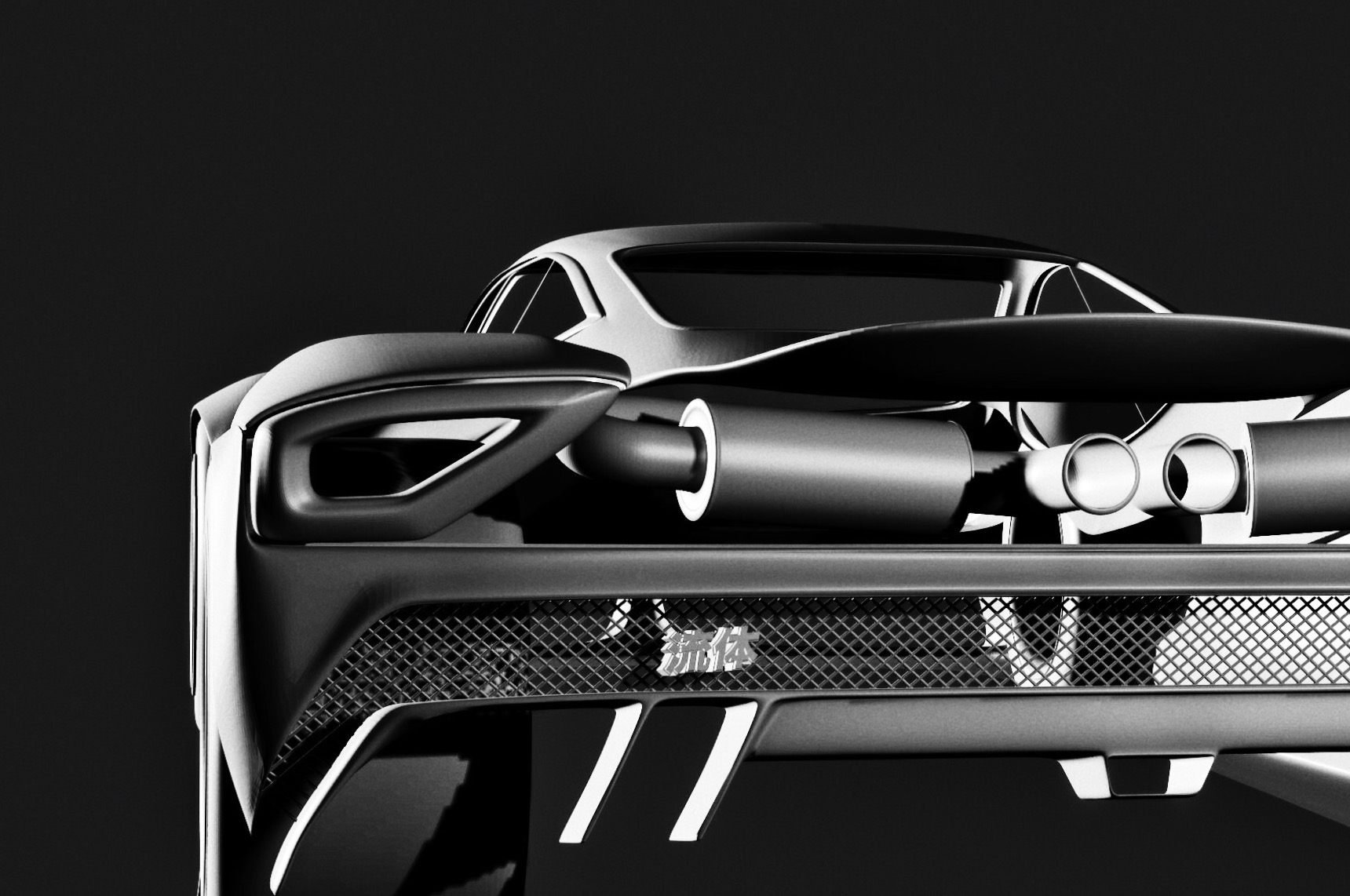 Obsessing over the exhaust solution here, trying to incorporate mechanical exposure wherever possible.