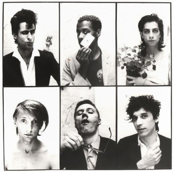 (clockwise from top left) Christoph Dreher, Paul Outlaw, Rainer Lingk, Remo Park, Thomas Wydler, Jochen Arbeit, 1985