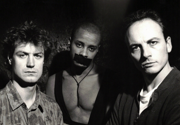 (l to r) Yref, Paul Outlaw and Horst Neff