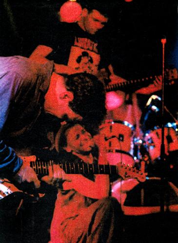 Opening for MC 900 Ft Jesus at Loft Metropol, Berlin: Yref (guitar), Outlaw (vocals), Mathias Gebler (bass), Neff (drums)