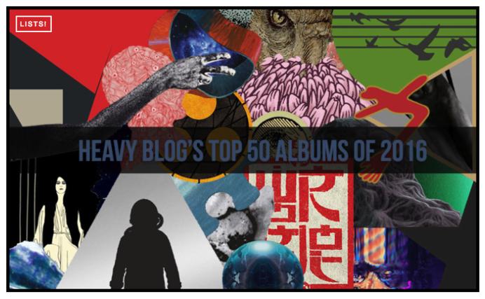 clipping.'s  Splendor & Misery  ranked #17 album of 2016