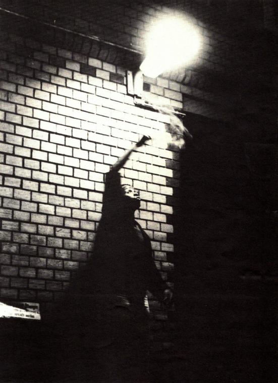 """Underground Overground: Klangbilder , photo book by """"Alaska,"""" Berlin: W.W. Verlag, 1985"""