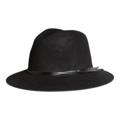 Felt Black Hat