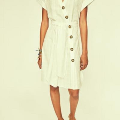 Textured Weave Dress
