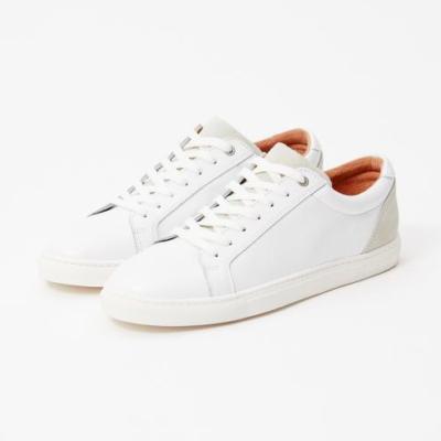 Les Deux White Loafers