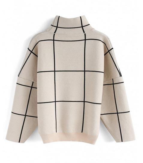 Grid Sweater