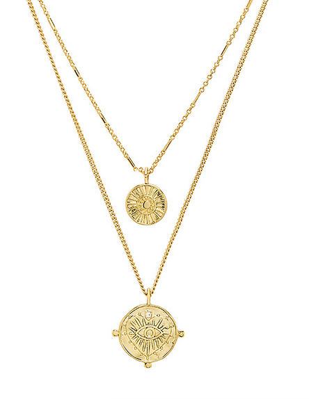 Copy of Copy of Layered Coin Necklaces