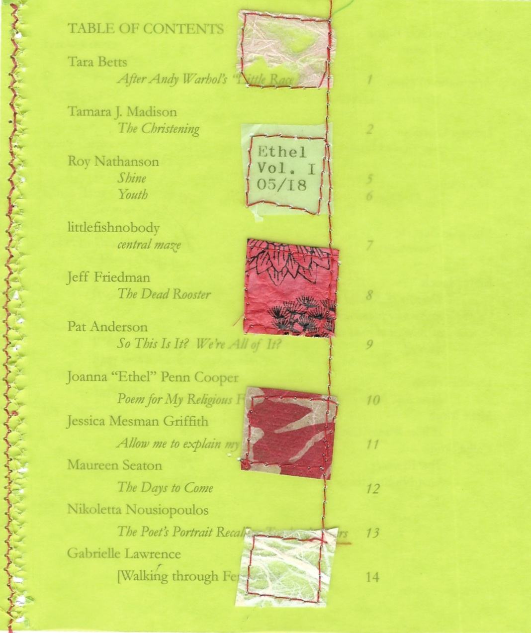 Volume 1 - Cover - Sara Lefsyk