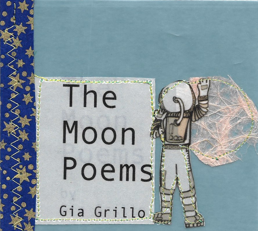 The Moon POems - byGia GrilloGia Grillo is a poet living and working on the wrong side of the Hudson River. Through a steady diet of terrible movies and excessive amounts of coffee, she produces a slurry of over-processed, twice-baked madness she calls poetry. Her work has been featured in Outlook Springs, The Rutherford Red Wheelbarrow, Virga Magazine and others.
