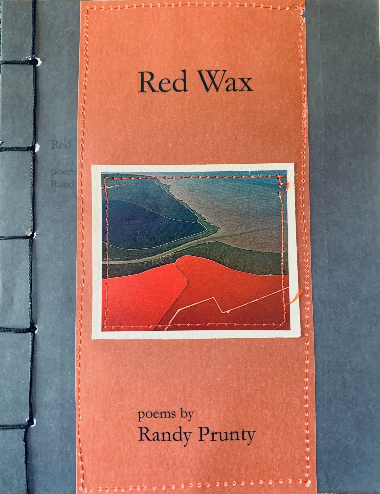red wax - byRandy PruntyRandy Prunty lives in Oakland, California where he works as a bus driver. In 2016, Moria Books published his chapbook Pretend I'm Me. Previous chapbooks, Van Gogh Talks and Delusiveness, were published by the press Thirdness, and Fish Log was published by Lavender Ink. Recent work has appeared in talking about strawberries all of the time,Caliban, New American Writing, where is the river, Marsh Hawk Review, andthe tiny. He is married to the poet Elizabeth Robinson.