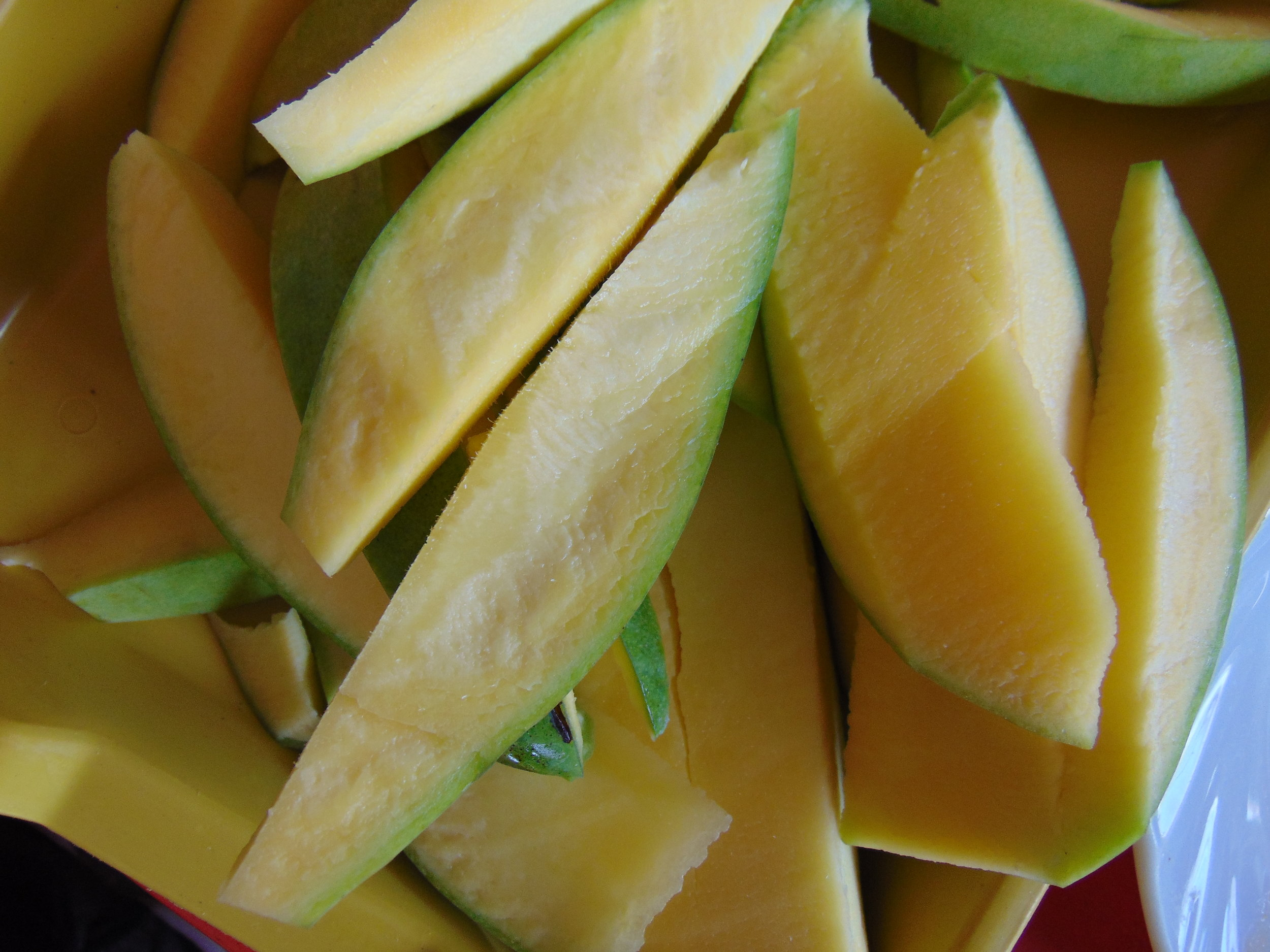 Green Mango: just add chili salt, and enjoy!