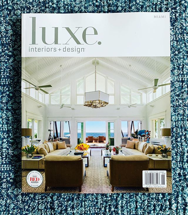 "A great shoot and cover story with @luxemagazine and @samrobindesign! As @djkhaled says ""ANOTHER ONE!"""