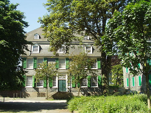 The Engels family house at Barmen (now in Wuppertal), Germany