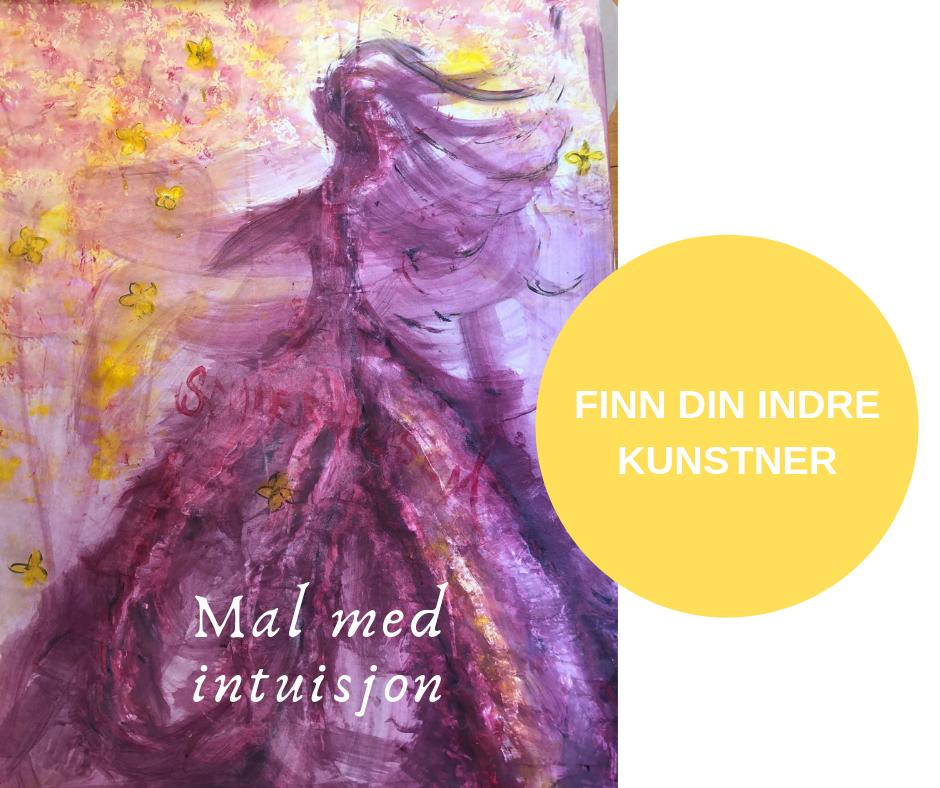 Velkommen til høstens malekurs som lokker frem gleden i deg! - Høst 2019Informasjon og tider HER