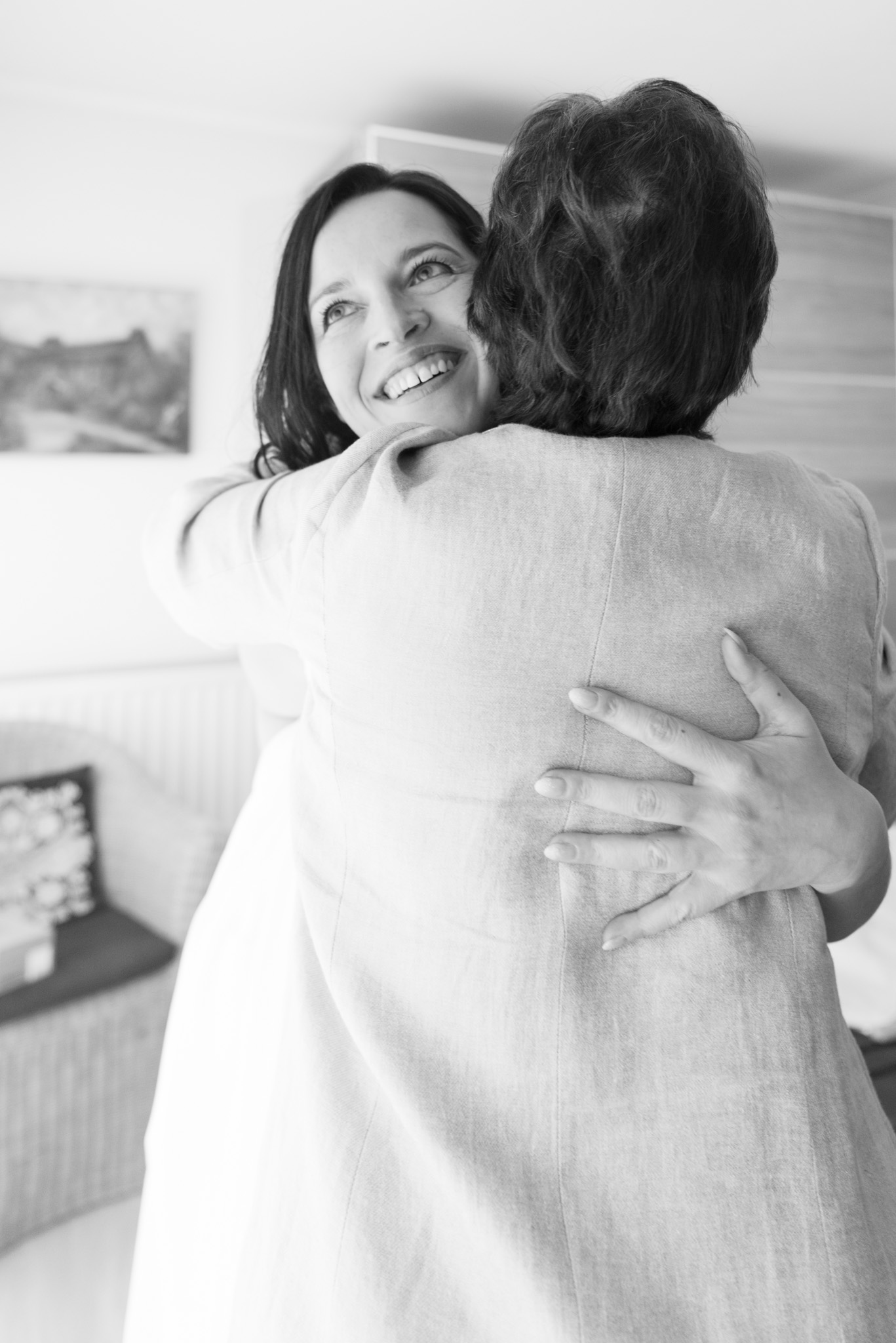 Bruid en mama