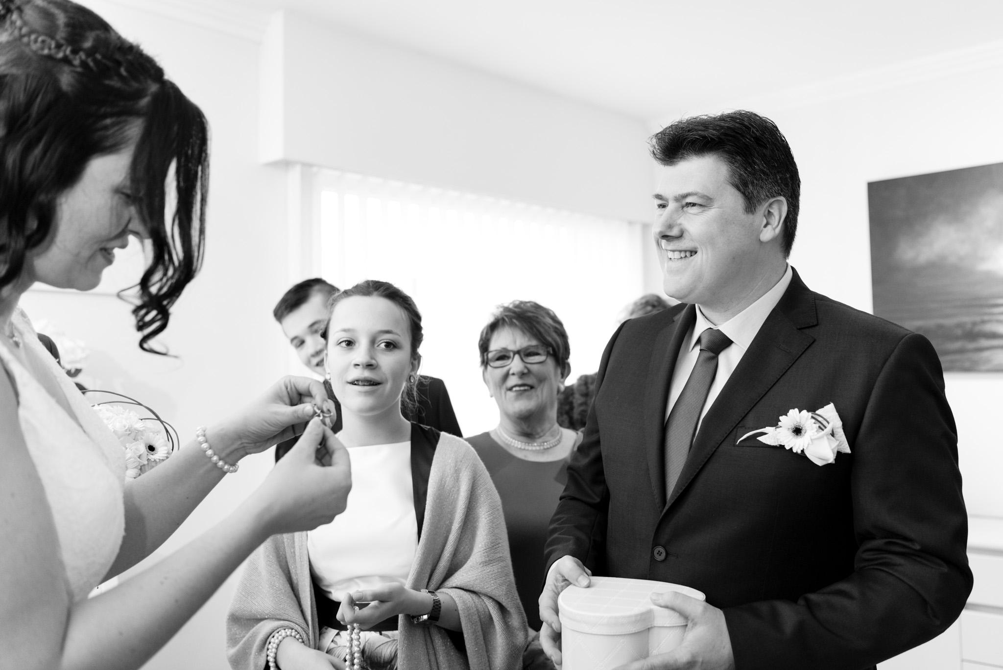 Bruid en bruidegom Lochristi