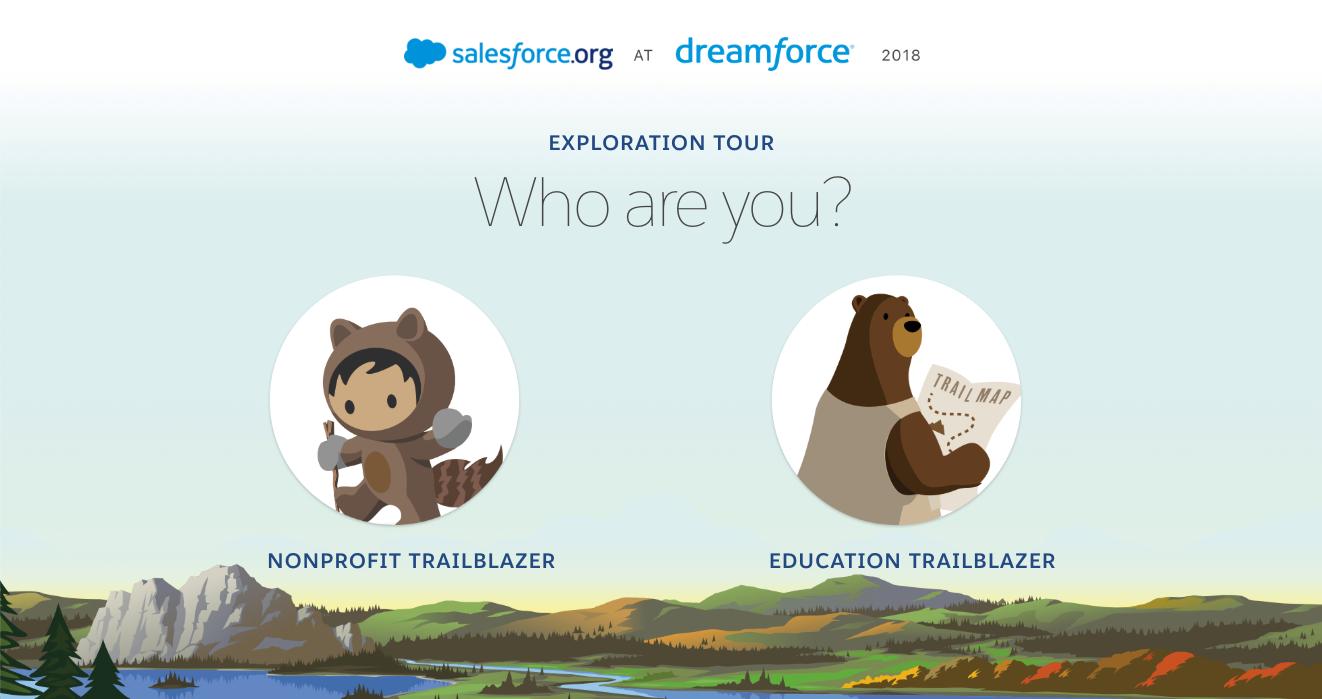 Salesforce.org Event Touchscreen