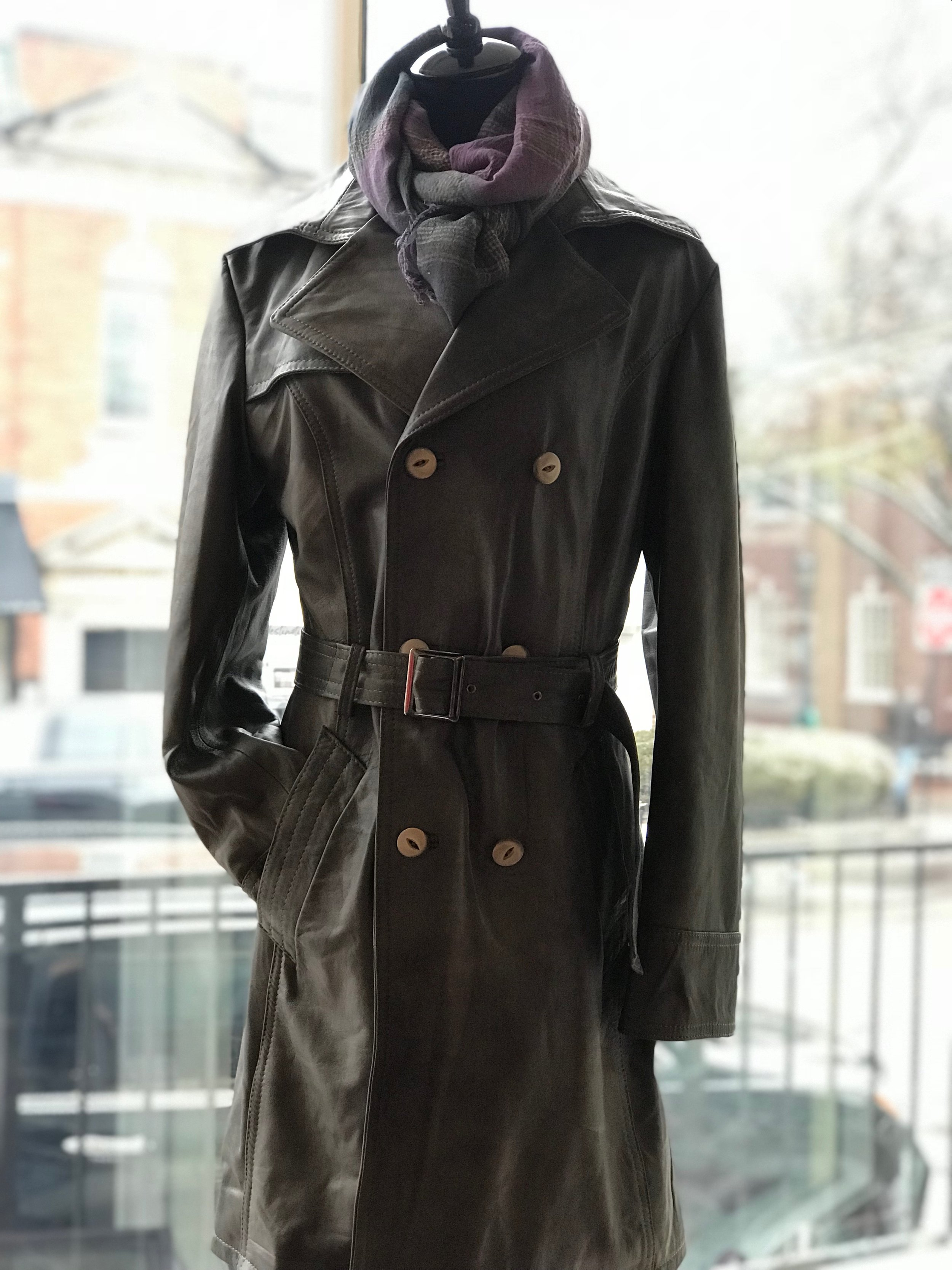 Womens Leather Trench.JPG