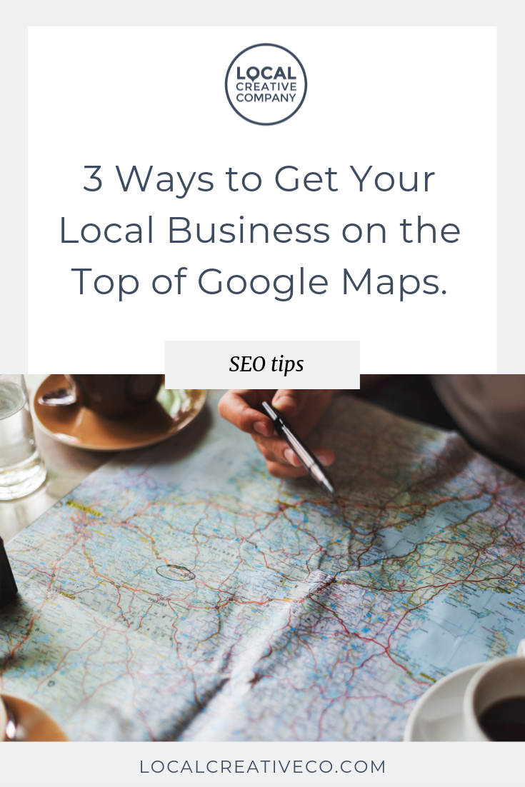 You see Google Maps suggesting businesses near you all the time and you wonder how your competition got there.  Here are 3 ways to get your local business website to the top of Google Maps. #3 might surprise you!