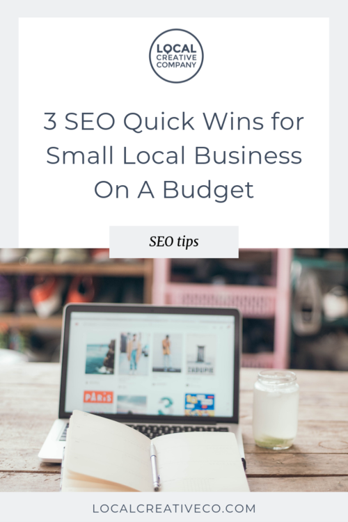 Putting together an entire SEO strategy can take months, but there are some things you can do in the meantime to gain traction as your business grows.   Here are 3 ways to get started with SEO when you have limited time and budget.