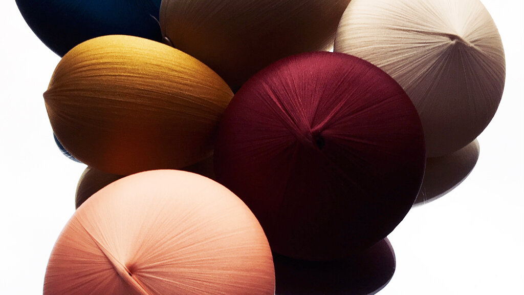 It's about shape and colour - -
