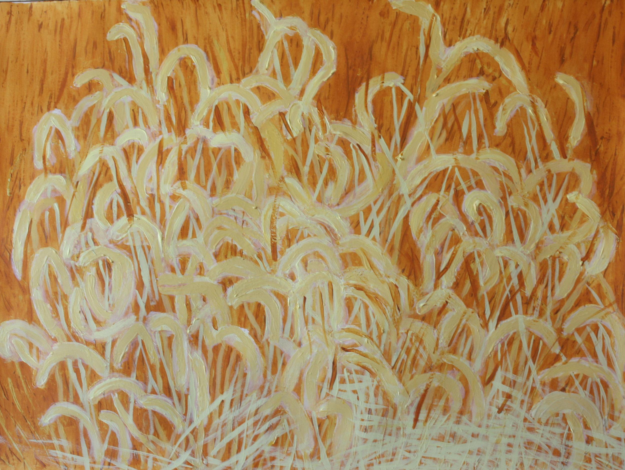 Fall Breeze  22x30 acrylic on paper