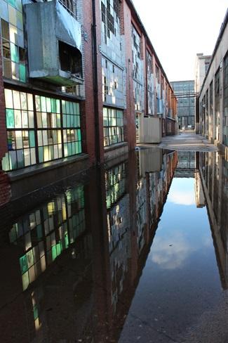 Rail Yard Reflections