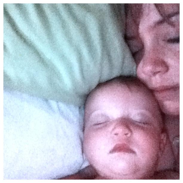 Mommy-baby nap @ohbotherblog